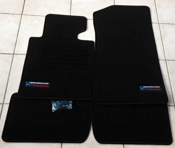 bmw e46 3er s rie partir de bj 1998 2005 tapis de sol set velour performance nouvelle ebay. Black Bedroom Furniture Sets. Home Design Ideas