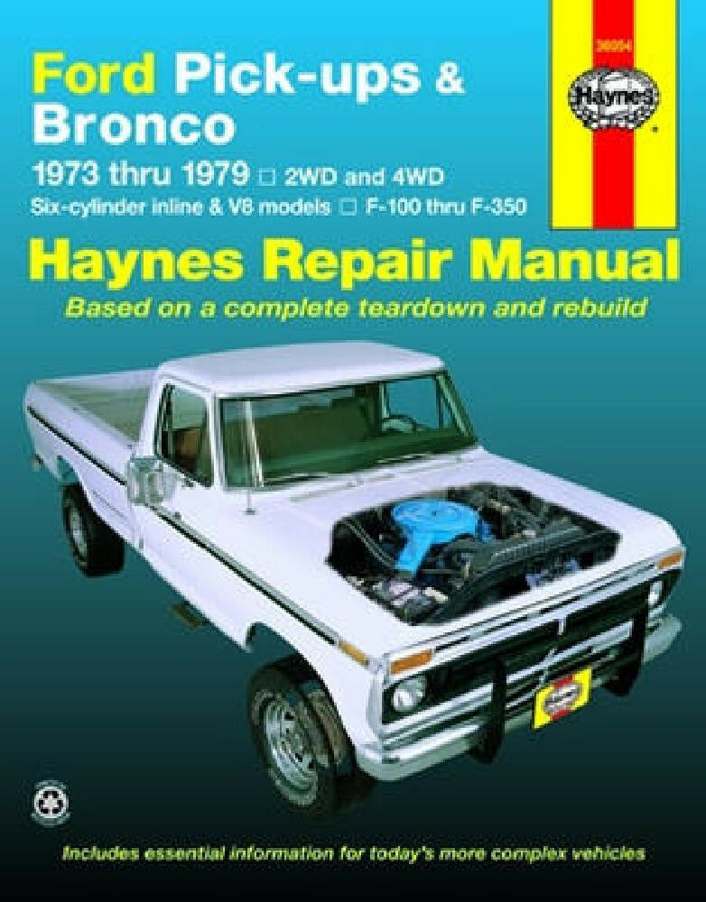 ford bronco     repair manual
