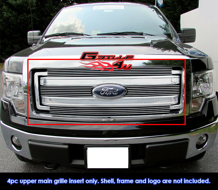 For 2013 2014 ford f 150 upper billet grille insert ebay for Ford f 150 exterior accessories