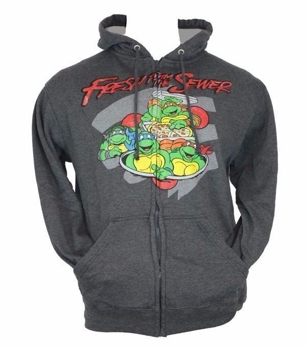Find Ninja Turtles Men's Crew Neck Sweatshirts in a variety of colors and styles from zippered hoodies and pullover hoodies to comfy fleece crewneck sweatshirts.