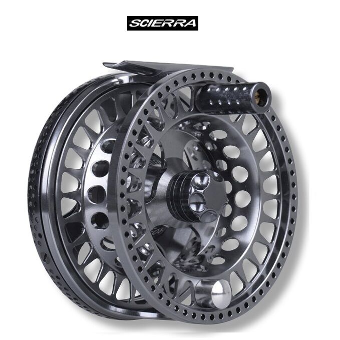 Scierra traxion 3 fly reel 8 10 size 50901 new for Fly fishing reels ebay