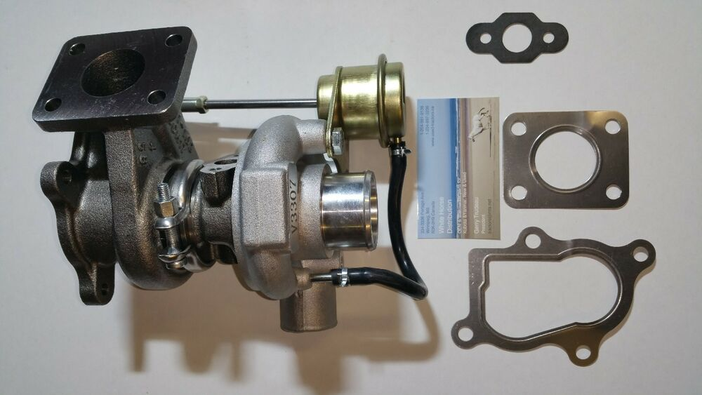 S L on Kubota Turbocharger
