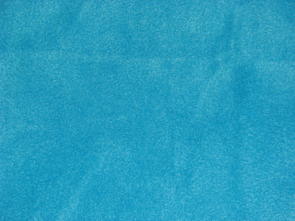 turquoise blue solid color anti pill fleece fabric by the yard bty ebay. Black Bedroom Furniture Sets. Home Design Ideas