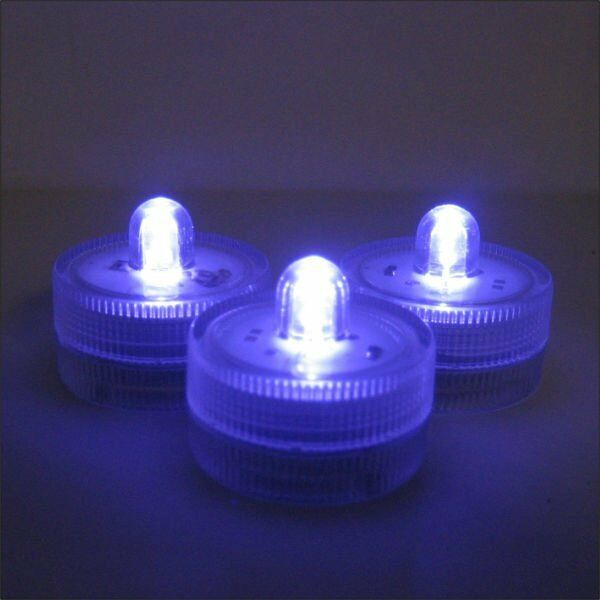 12 led lights waterproof battery operated for vases
