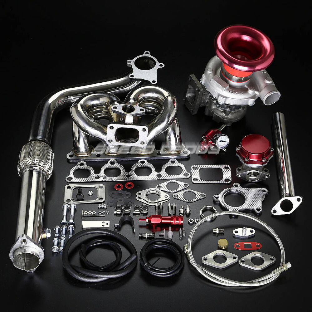 Turbo Kit Ge8: D-SERIES D15 D16 T04E STAGE II TURBO CHARGER RAM HORN