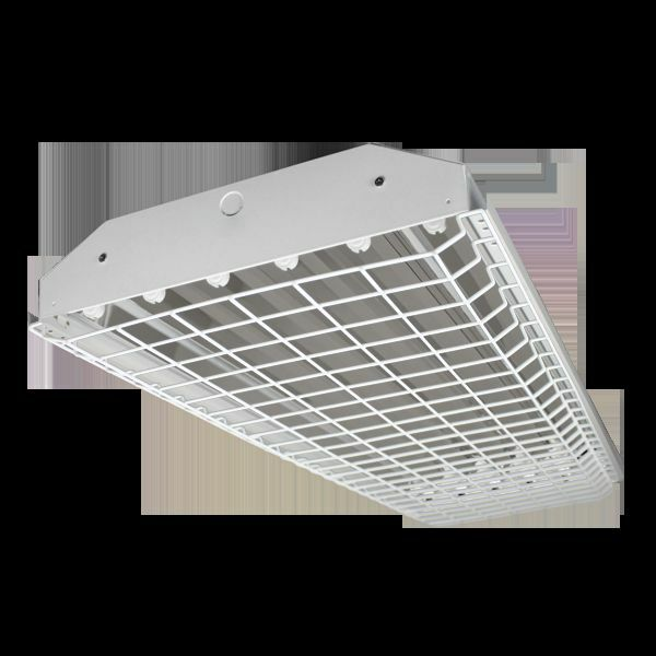 Fluorescent Light Delayed Start: 6 Lamp T5HO High Bay Fluorescent Light Fixture *WITH