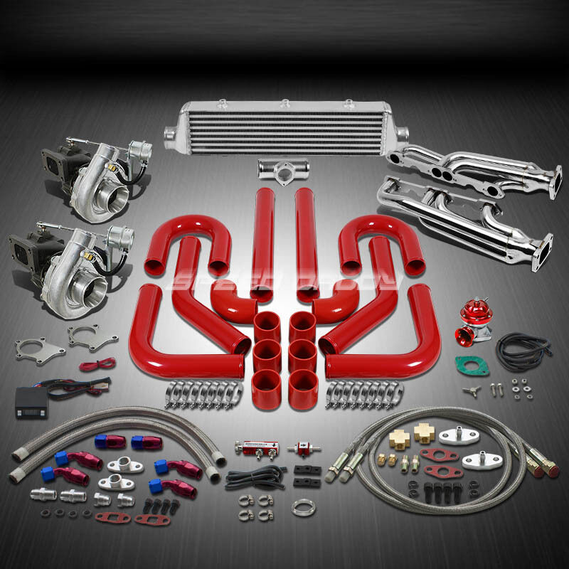 Chevy Turbo Kits : T ar hp pc twin turbo charger manifold