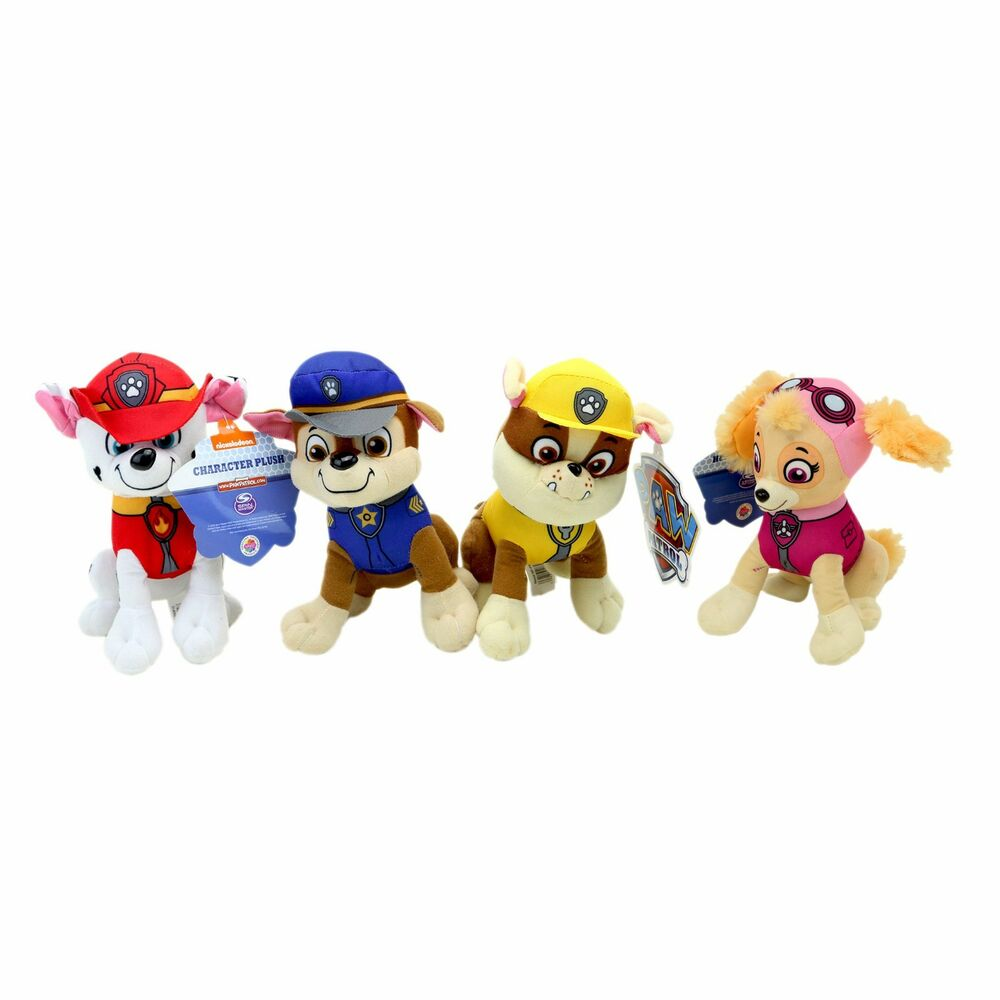 """8"""" Paw Patrol Character Rubble Marshall Skye or Chase ..."""