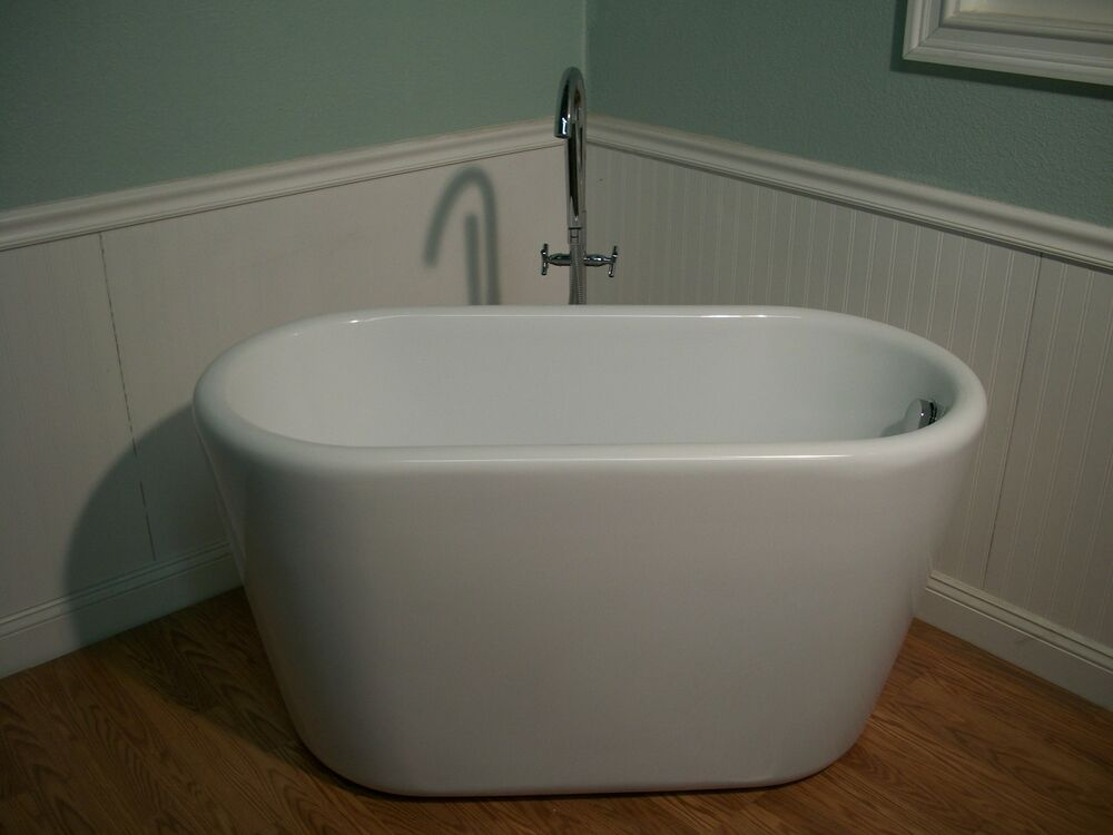 51 deep soaking bathtub faucet free standing ebay