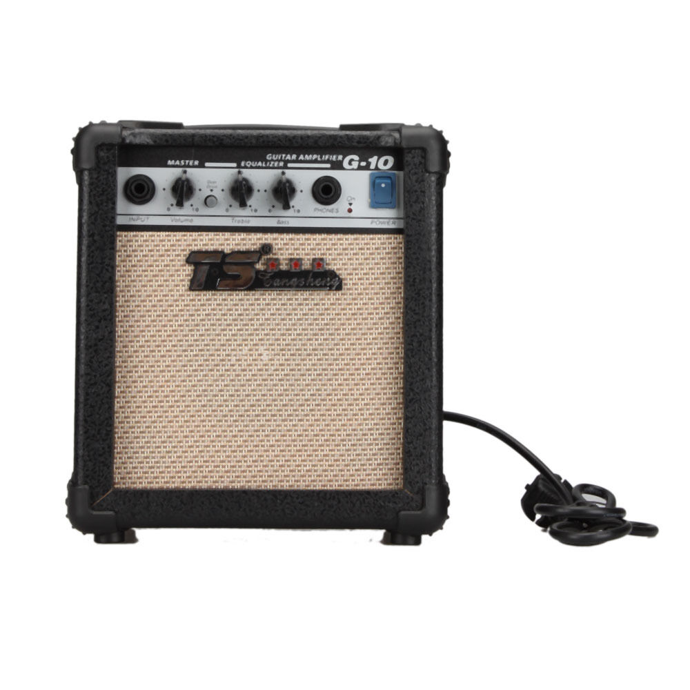 gt 10w guitar amplifier electric guitar amp accoustic guitar pickup amp 10 watts ebay. Black Bedroom Furniture Sets. Home Design Ideas