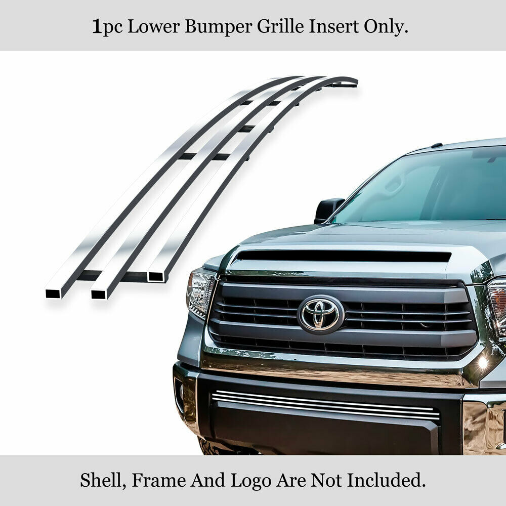 Fits 2014-2019 Toyota Tundra Lower Bumper Billet Grille
