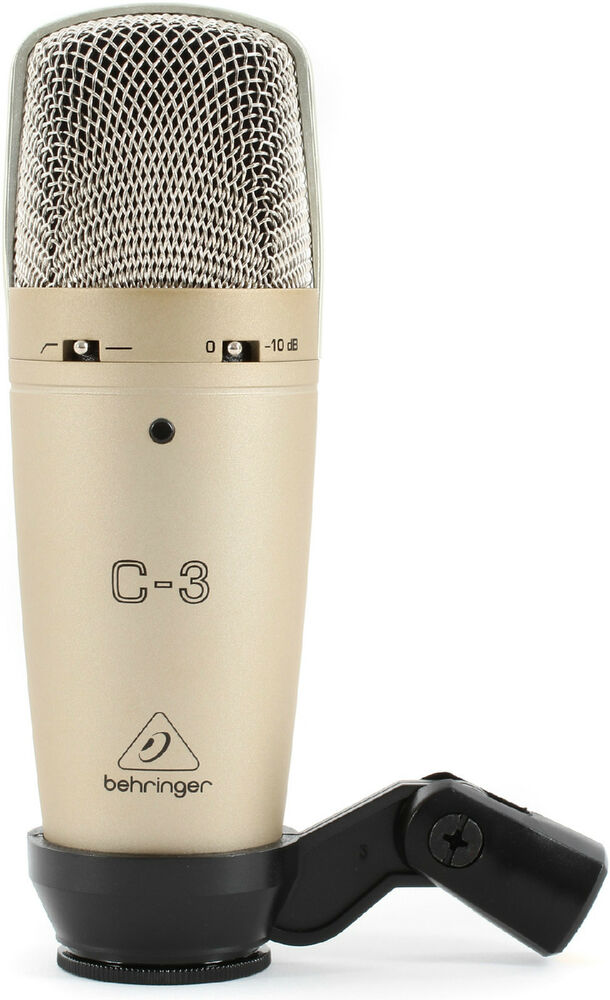 New Behringer C 3 Condenser Microphone Buy It Now Make