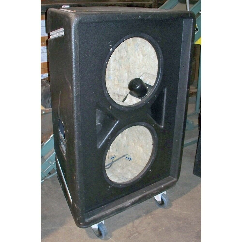 Empty Box Stage Concert Speaker Dual Cabinet Woofer ...