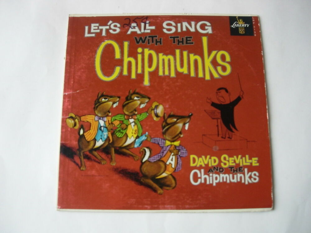 Chipmunks Quot Let S All Sing With The Chipmunks Quot M Ebay