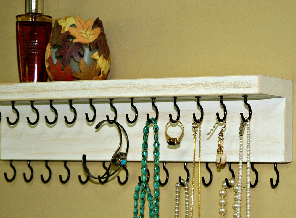 Jewelry Holder Wall Hanging/ Necklace Holder/ Jewelry ...