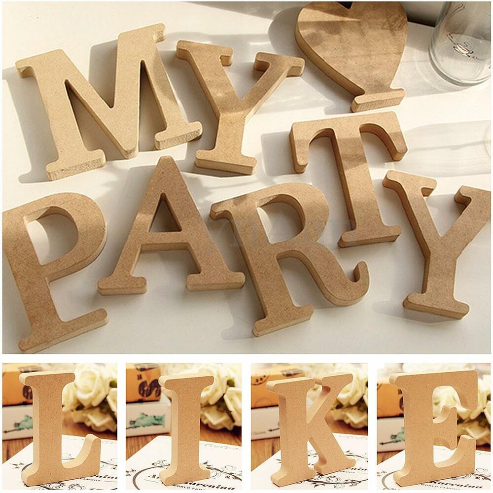 Freestanding a z wood wooden letters alphabet hanging for Alphabet decoration