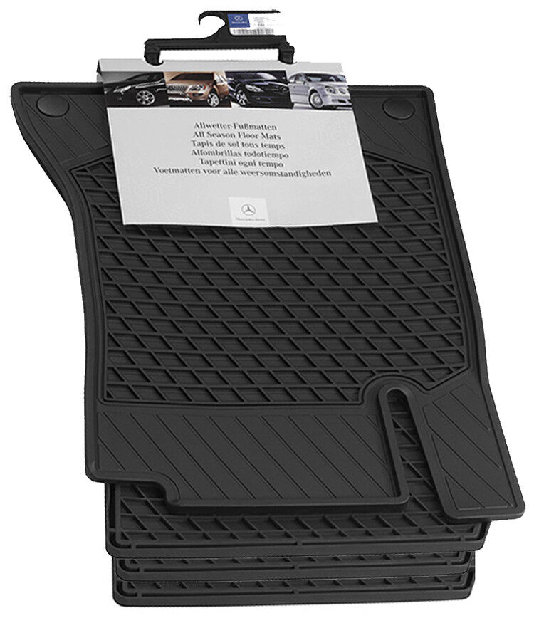 mercedes benz oem all weather floor mats 2016 2017 glc