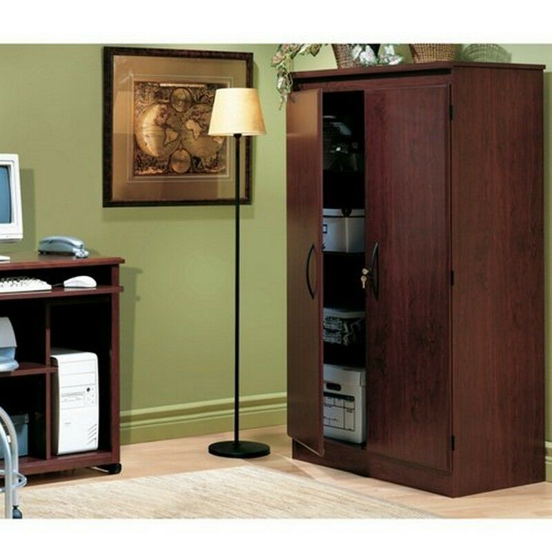 south shore cabinets south shore 2 door storage cabinet cherry 26486
