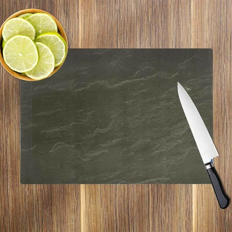 typhoon glass worktop saver protector slate chopping. Black Bedroom Furniture Sets. Home Design Ideas
