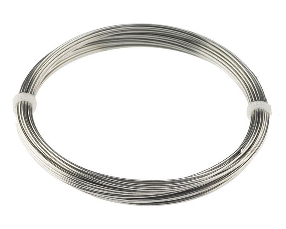 Stainless Steel Wire : Feet gauge mm stainless steel zinc free wire