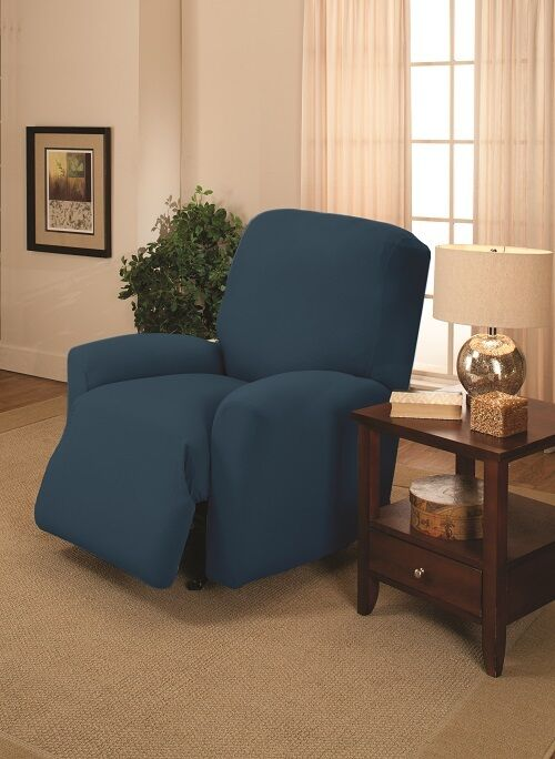 Cobalt Recliner Cover Also Comes In Couch Loveseat Chair