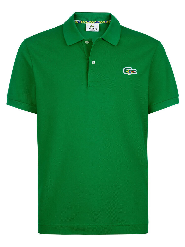 New lacoste men 39 s athletic premium cotton polo shirt t for Cotton polo shirts with logo