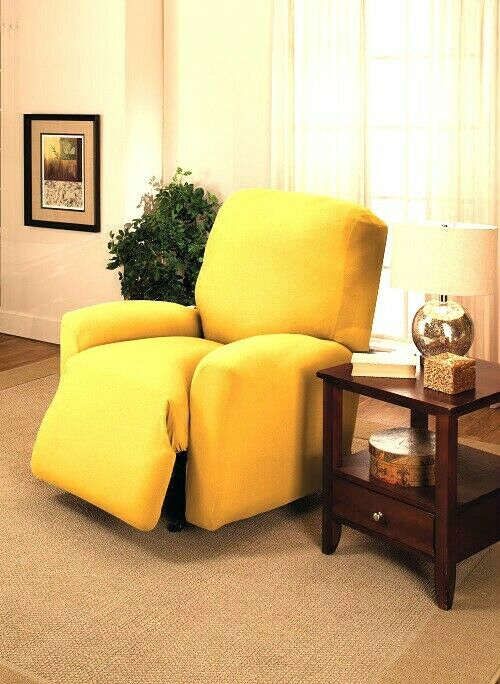 On Sale Jersey Recliner Cover Lazy Boy Yellow