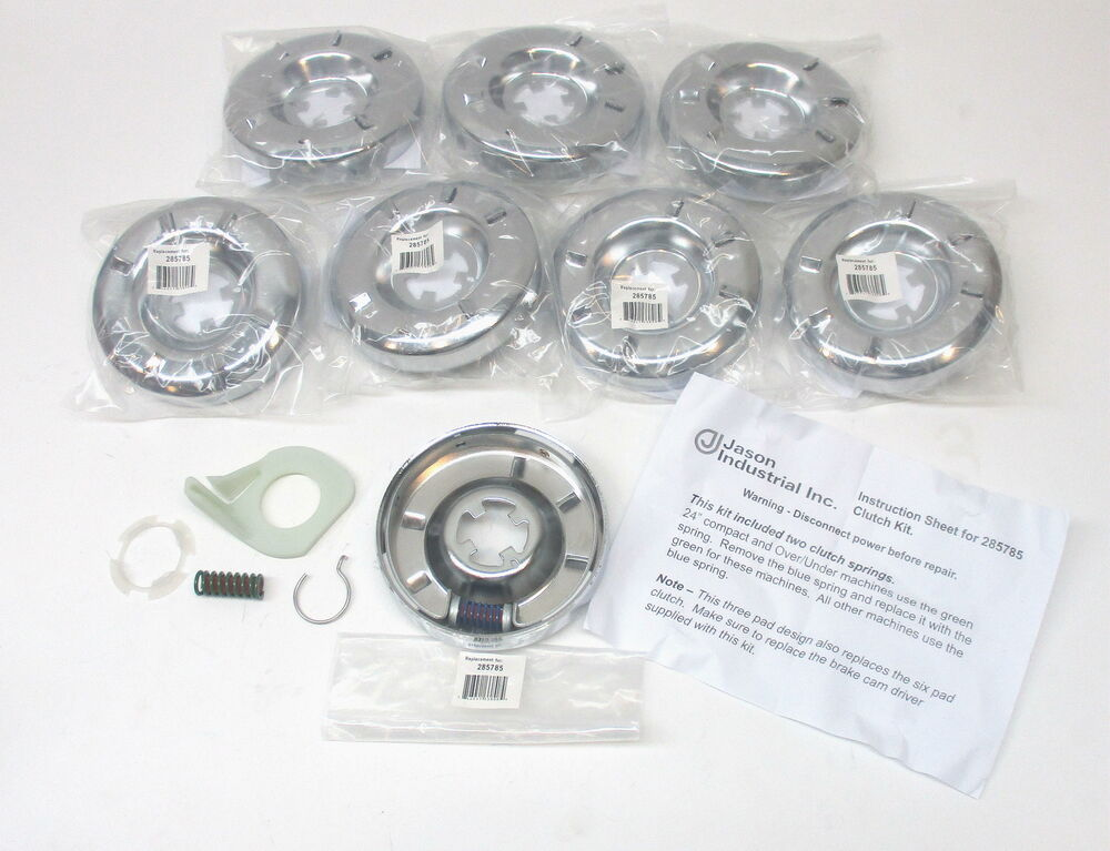 285785 8pack for whirlpool kenmore washer washing machine clutch ebay - Whirlpool washer clutch replacement ...