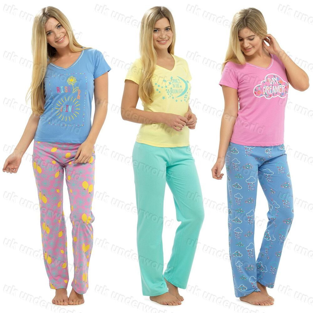 Footie pajamas, women's lounge pants in fleece, hoodies, bathrobes, short and long sleeve tees, dorm sets, sleep shirts, tank tops, capris and more can be found right here at great prices in lots of themes.