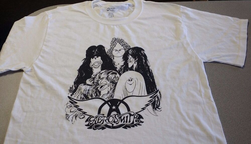 Drawing Lines James Rachels Summary : Aerosmith draw the line t shirt ebay