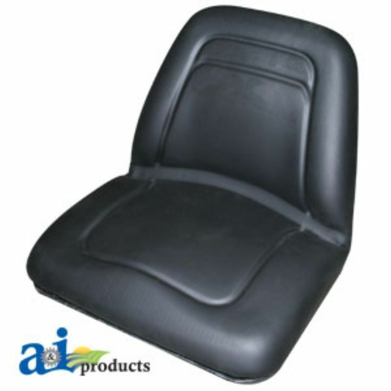 Craftsman Tractor Seats Replacement : Universal deluxe lawn mower high back seat tm bl ebay