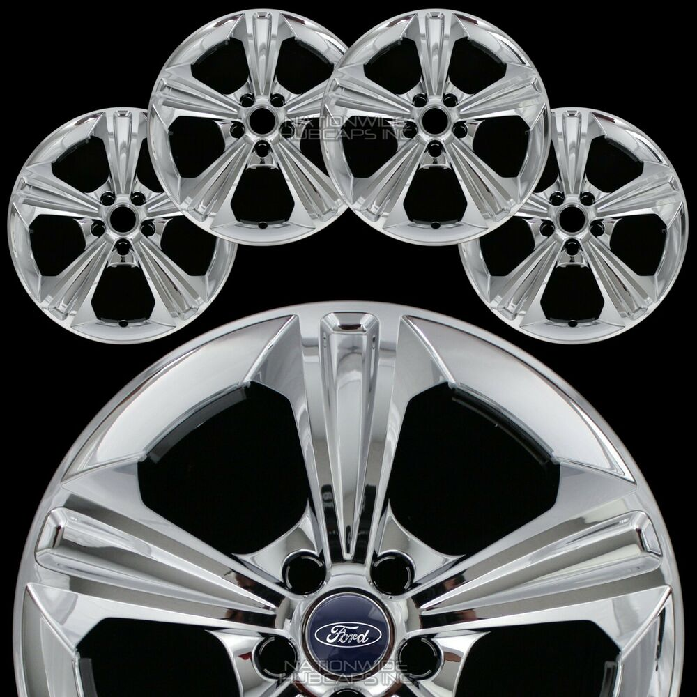"2014 Ford Escape Tires >> 4 New 2013-16 Ford Escape 17"" Chrome Wheel Skins Hub Caps Full Alloy Rim Covers 