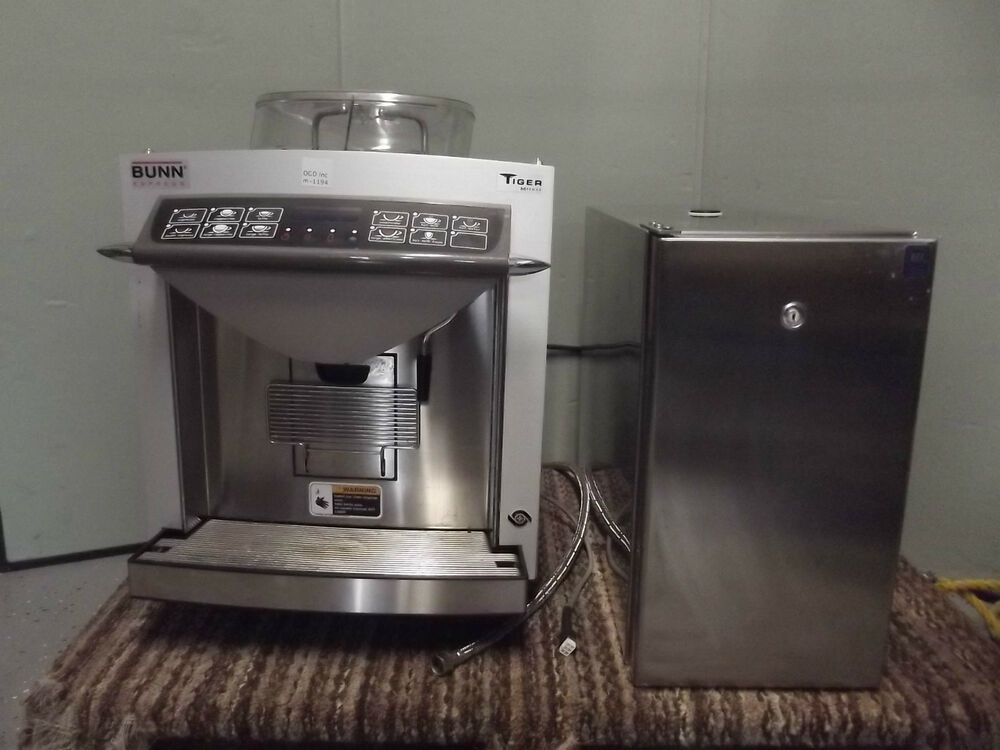Bunn Espress Tiger M-Series Espresso Machine/Grinder & Fridge-No Power-m1194 eBay