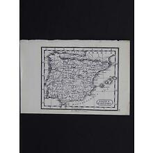 Miniature Map, c. 1850 #20 Spain & Portugal