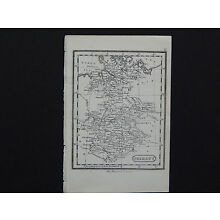 Miniature Map, c. 1850 #25 Germany