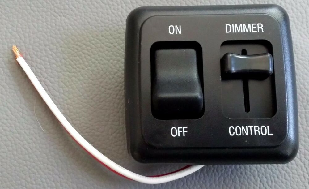 American Technology 12 Volt Dimmer With On Off Switch Ebay