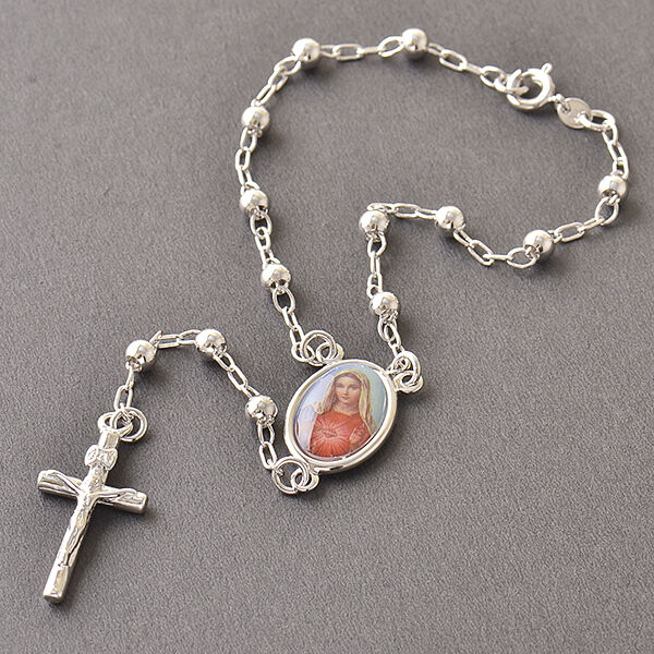 Premier designs real silver filled rosary pray beads cross for Premier jewelry cross ring