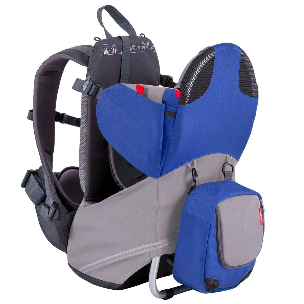Phil Amp Teds Parade Backpack Baby Carrier Blue Grey New Free Shipping Ebay