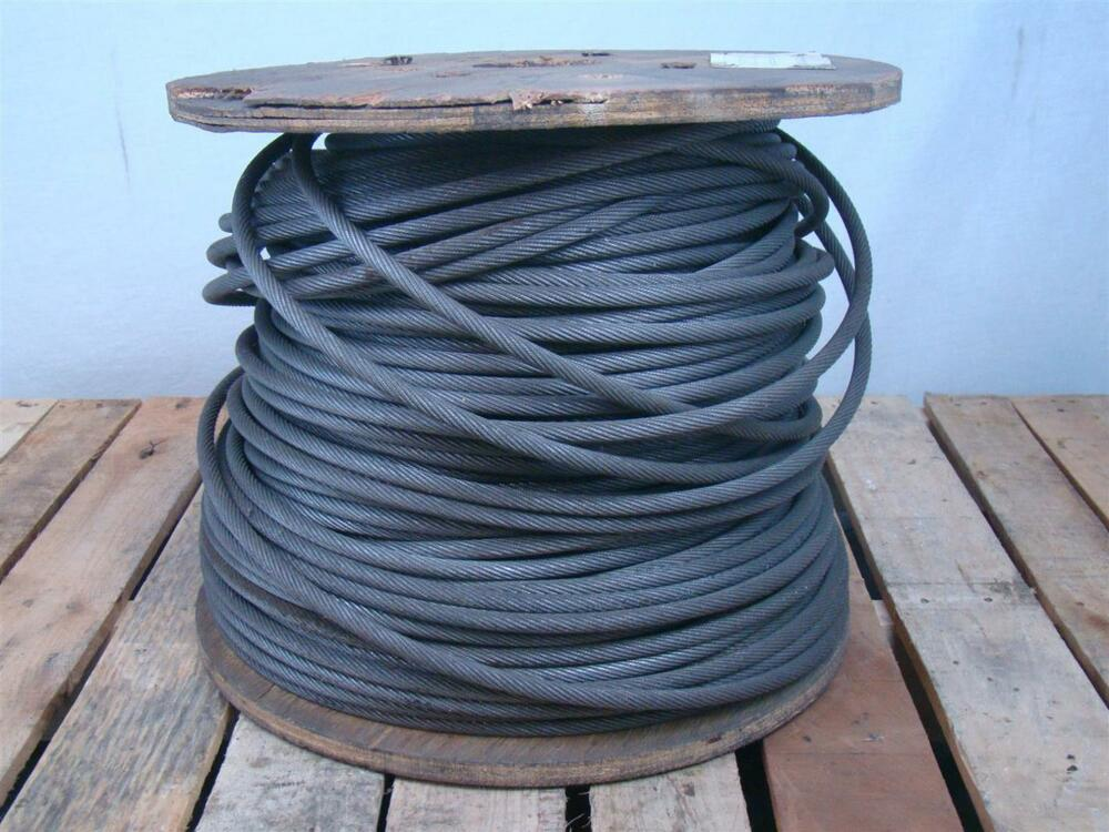 Steel Wire Rope : Nelson wire rope quot winch cable  rr strand