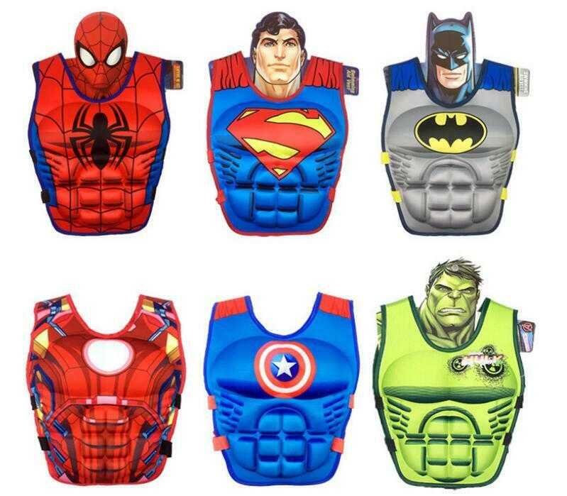 2-8 Years Old Child Kids Buoyancy Aid Swimming Floating Life Jacket Vest  Batman  87b1e009a0fd