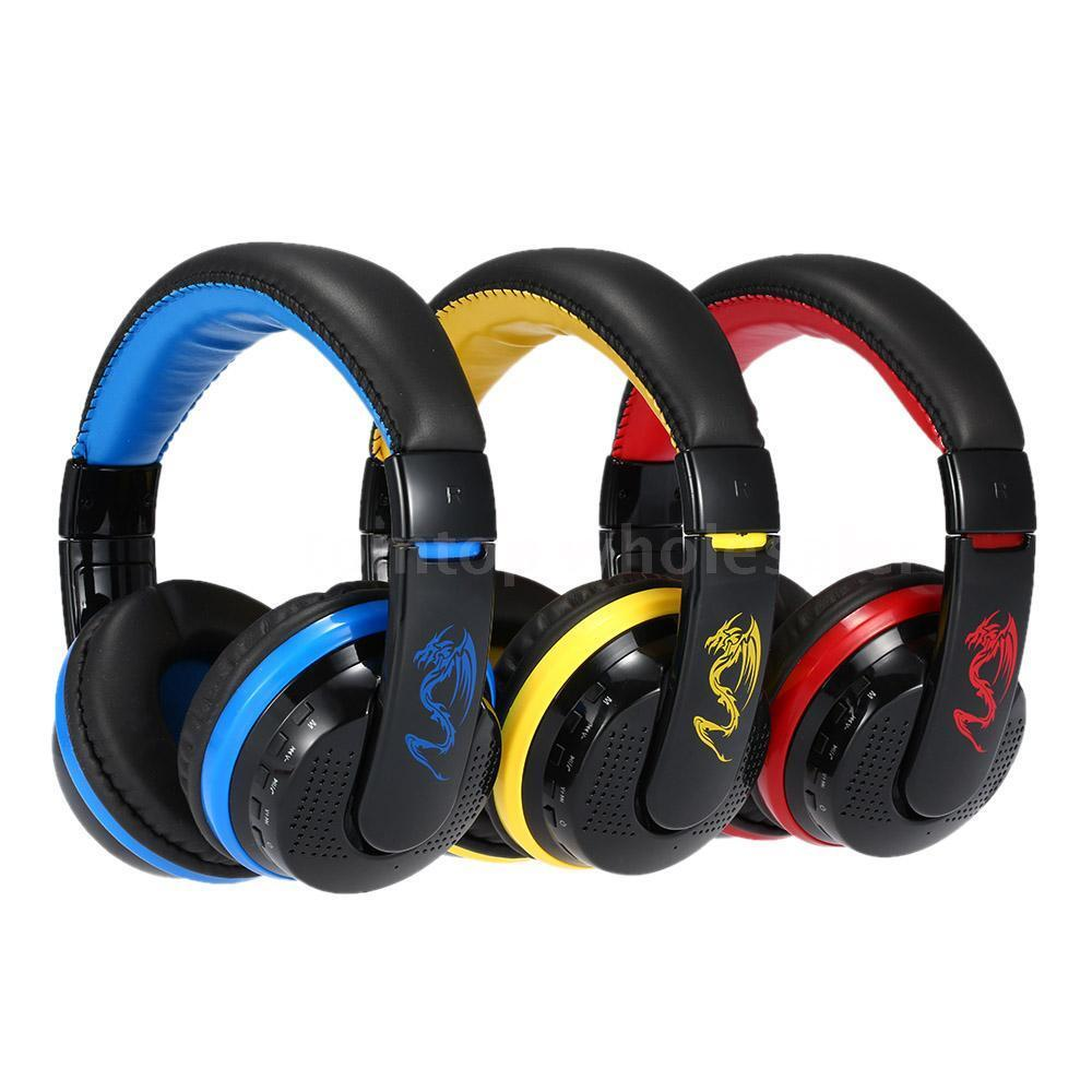 New Headset Wireless Smart Phone Stereo Music For: MX666 Wireless Bluetooth 4.0 Stereo Headphone Over-Ear Mic