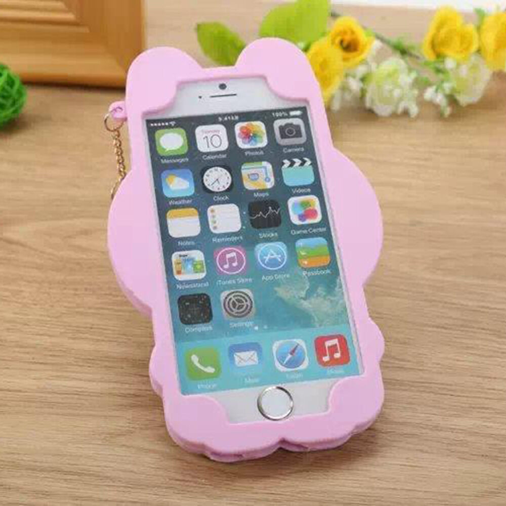 3d iphone cases 3d hello kitty soft silicone back rubber cover for 2207