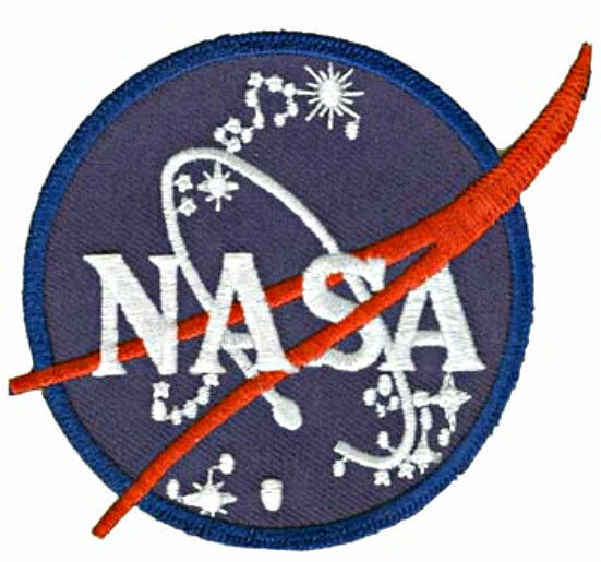 Official NASA Space Program Vector Emblem Patch - Look at ...