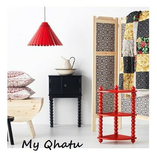 Ikea Red Chandelier: Ikea Pendant Lamp SHADE Ryssby Modern Shade Black Red
