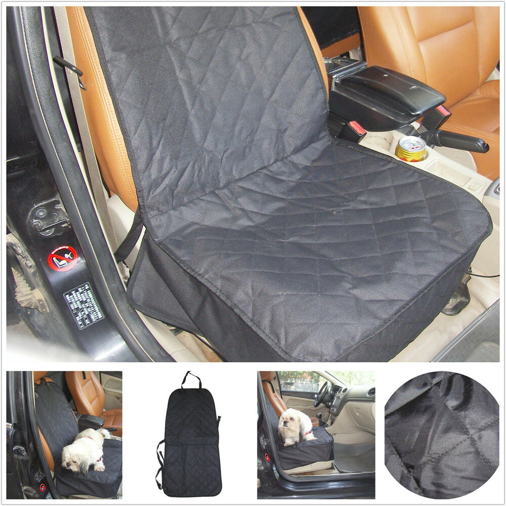 1pcs oxford black car seat covers pet protector dirt pad carpet dog floor mat ebay. Black Bedroom Furniture Sets. Home Design Ideas
