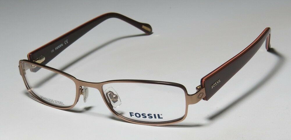 NEW FOSSIL CASSANDRA STAINLESS STEEL HIGH QUALITY EYEGLASS ...