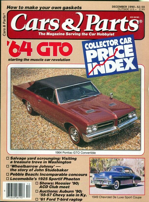 1990 cars parts magazine 1964 pontiac gto 1949 chevrolet de luxe sport coupe ebay. Black Bedroom Furniture Sets. Home Design Ideas