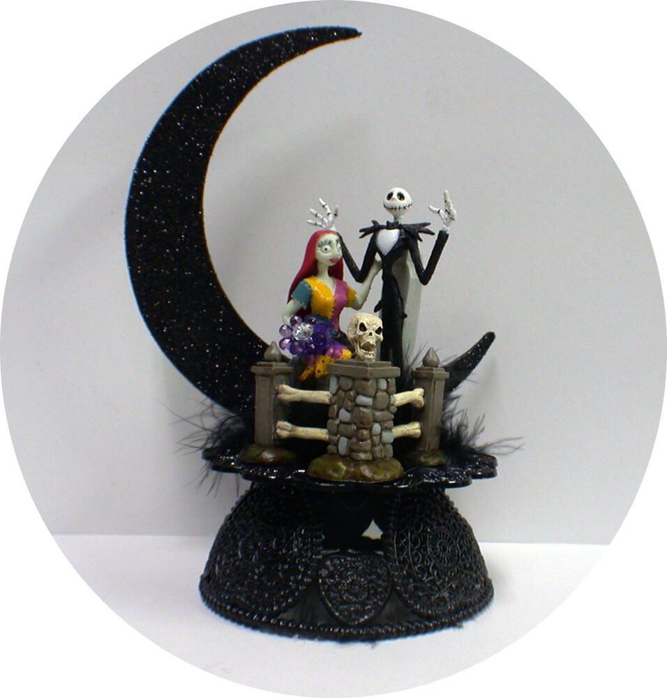wedding cake toppers nightmare before christmas amp sally f nightmare before wedding cake 26553