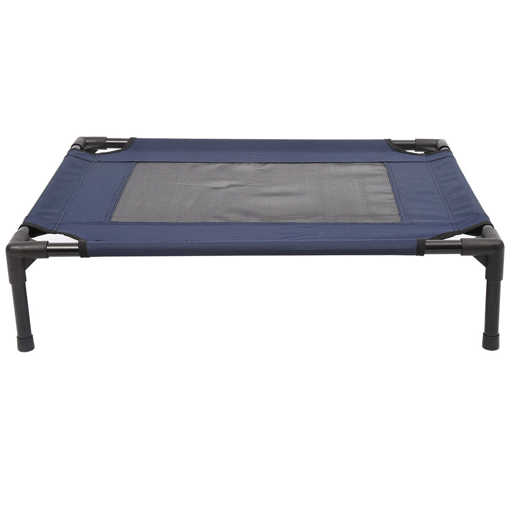 Pawhut Pet Puppy Raised Bed Cot Dog Cat Elevated Cots