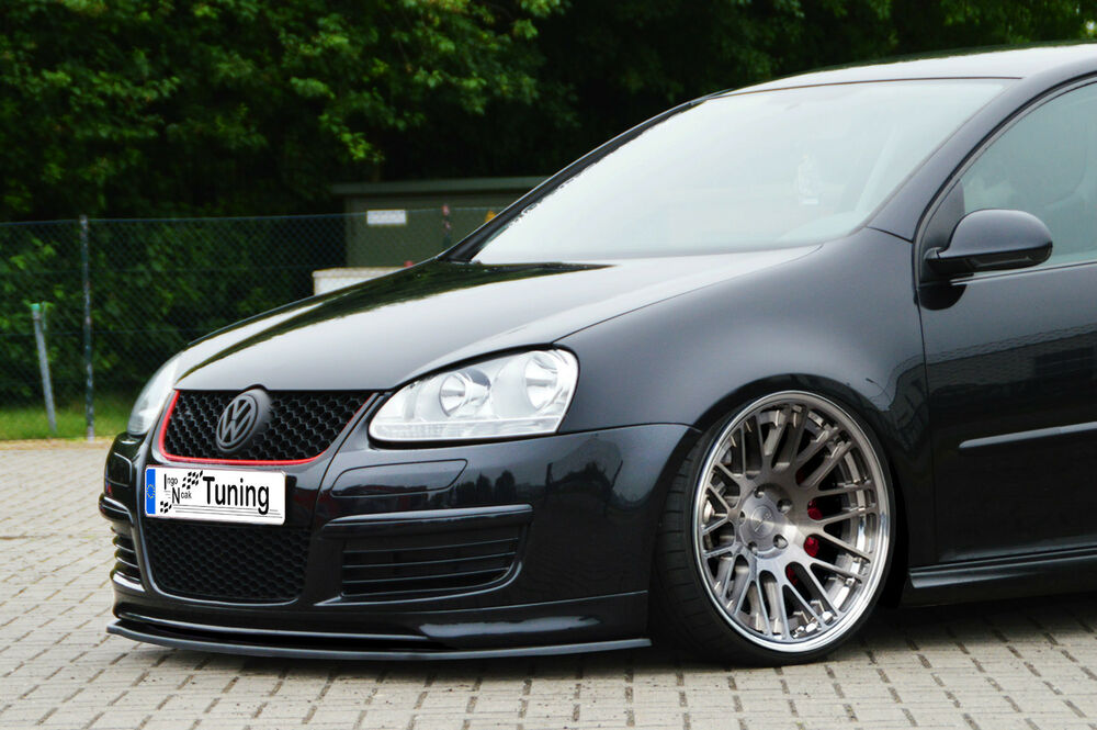 spoilerschwert frontspoiler lippe cuplippe vw golf 5 mk5 r line gti ed30 mit abe ebay. Black Bedroom Furniture Sets. Home Design Ideas